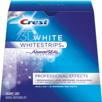 Save $2 on one Crest 3D Whitestrips Product, 8ct or larger