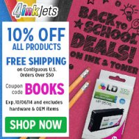 Free Shipping on Canon, Epson, HP Compatible Ink Cartridges at 4inkjets.com!