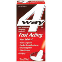 Print a coupon for $2 off one 4 Way Fast Acting Nasal Spray product