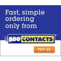 Get $15 off your next order and free shipping at 800-Contacts