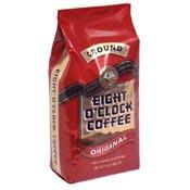 Save $1.50 on a bag of Eight O'Clock Coffee