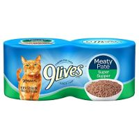 Print a coupon for $0.30 off one 4-pack of 9Lives wet cat food