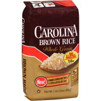 Print a coupon for $0.50 off one package of Carolina Brown Rice