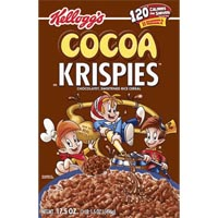 Print a coupon for $1 off two boxes of Rice or Cocoa Krispies Cereals