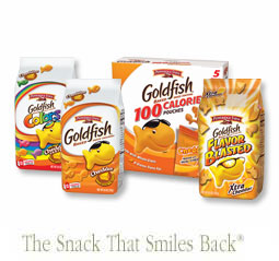 Save 50 cents on any packages of Pepperidge Farm Goldfish Puffs