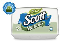 Save $0.75 on two Scott Naturals Flushable Cleansing Cloths
