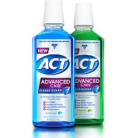 Save $2 on any ACT Advanced Care Plaque Guard Mouthwash