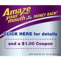 Save $1 on new ACT Advanced Care Mouthwash