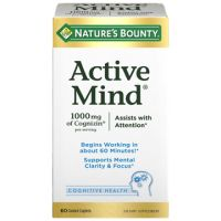 Save $5 on any Nature's Bounty Active Mind product