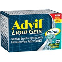 Print a coupon for $1 off a bottle of Advil Liqui-Gels Minis, 20ct. or higher