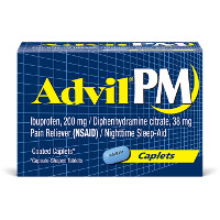Print a coupon for $2 off one Advil PM product, 40ct. or larger