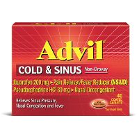 Print a coupon for $2 off one Advil product 20 count or larger