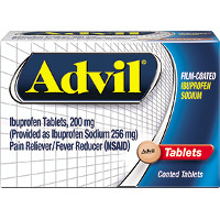 Save $3 on one bottle of Advil Film-Coated Ibuprofen, 40ct. or higher