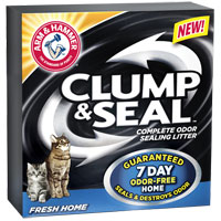 Save $2 on Arm and Hammer Clump and Seal Cat Litter