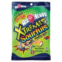 Print a coupon for $0.70 off one 6oz. bag of Airheads Xtremes Sourfuls Candy