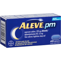 Print a coupon for $2 off a box of Aleve PM, 20 ct. or larger