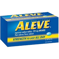 Print a coupon for $2 off one bottle of Aleve, 40ct. or larger