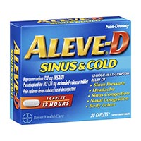 Save $2 on any Aleve-D Product