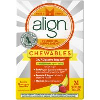 Print a coupon for $3 off Align Adult Chewables Probiotic