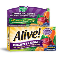 Print a coupon for $2 off one Nature's Way Alive! Multi-vitamin product