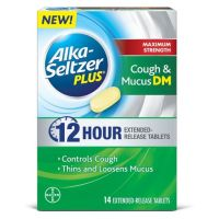 Print a coupon for $4 off Alka Seltzer Plus 12 Hour Cough Mucus DM Product