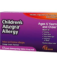 Print a coupon for $3 off one Children's Allegra Allergy product