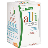 Print a coupon for $5 off Alli OTC Weight Loss Aid, 120ct. refill pack