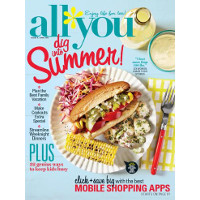 Save $0.50 on the July issue of All You Magazine