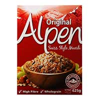 Print a coupon for $1 off one box of Alpen Muesli