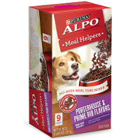 Print a coupon for $2 off one 36 oz. box of ALPO Meal Helpers