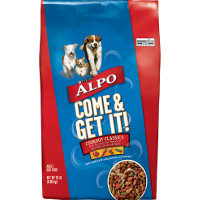 Print a coupon for $1.50 off ALPO Dry Dog Food, 14 lb. or larger