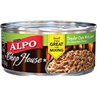 Save $1.50 on 12 cans of Alpo Dog Food