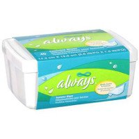 Print a coupon for $0.50 off Always Feminine Wipes