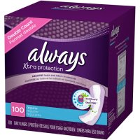 Save $1.50  on two Always Pantiliners