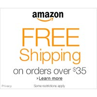 Get Free Super Saver Shipping on selected orders of $35 or more at Amazon.com