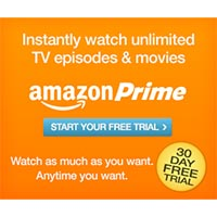 Give the Gift of Amazon Prime - Watch Over 40,000 Movies and TV Shows Anytime + Free two-day Shipping!