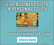 Get Free Standard Shipping on Consumer American Express Gift Cards