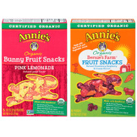 Print a coupon for $0.50 off one box of Annie's Fruit Snacks
