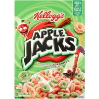 Print a coupon for $0.50 off one box of Kellogg's Apple Jacks Cereal