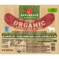 Print a coupon for $1 off one package of Applegate Hot Dogs
