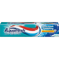 Print a coupon for $1 off one Aquafresh Multi Action or Extreme Clean Toothpaste, 5.6oz or larger