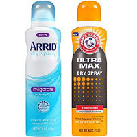 Print a coupon for $1 off any Arm + Hammer UltraMax or ARRID Dry Spray Antiperspirant