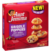 Save $1 on any Aunt Jemima's New Griddle Poppers