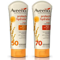 Print a coupon for $3 off any Aveeno Sun Care product