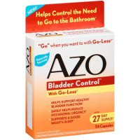 Save $2 on one box of AZO Bladder Control Product