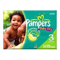 Save $1.50 on any package of Pampers Baby Dry Diapers