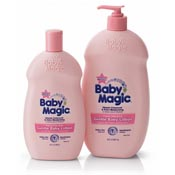 Print a coupon for $1 off one Baby Magic product