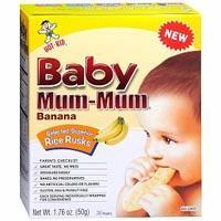 Print a coupon for $0.75 off any Baby Mum-Mum or Toddler Mum-Mum Product
