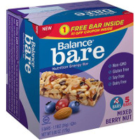 Print a coupon for $1 off a package of Balance Bar