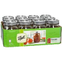 Print a coupon for $2 one case of Ball or Kerr branded jars